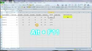 Calculate Letter Grade Using VBA MS Excel YouTube