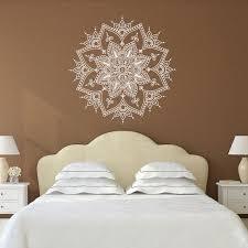 Mandala Wall Decal Yoga Studio Decor Bohemian Bedroom Art 114