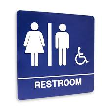 Printable Handicap Bathroom Signs by Restroom Signs Printable Clipart Best Chainimage