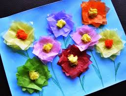 Craft Using Tissue Paper
