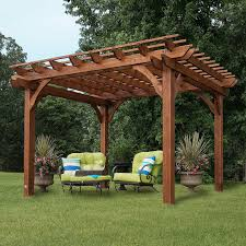 Cedar Pergola 10 X 12 Patio Furniture Garden Deck Yard Weather ... Pergola Design Awesome Pavilions Pergola Phoenix Wood Open Knee Pavilion Backyard Ideas For Your Outdoor Living Space Structures Pergolas Poynter Landscape Plans That Offer A Pleasant Relaxing Time At Your Backyard Pavilions St Louis Decks Screened Porches Gazebos Gallery Pics Gazebo Images On Remarkable And Allgreen Inc Pasadena Heartland Industries Timber Frame Kits Dc New Orleans Garden Custom Concepts The Showcase