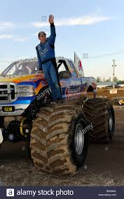 Monster Truck Bigfoot Driver Dan Runte Waves To Fans At 4x4 Off-Road ... Monster Trucks Drivers Best Image Truck Kusaboshicom Beach Devastation Myrtle Jam 2016 Sicom Trucks Monster Fun At Monsignor Clarke School Rhode Instigator Xtreme Sports Inc World Finals Xvii Competitors Announced Warning Truck Drivers Ahead Jim Kramer Wiki Fandom Powered By Wikia Bigwheel Power Whats It Take To Drive A We Quiz Champion Driver Worlds Youngest Pro Female Driver 19year Old Backdraft