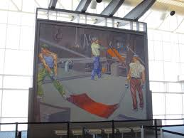 Denver International Airport Murals Artist by Travel Stuck At The Airport Page 29