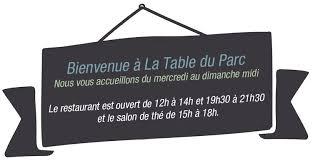 restaurant la table du parc à yerres terroir et inspiration