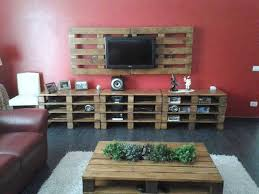 Entertainment Center With Pallets Plus Tv Mount How Awesome Is This