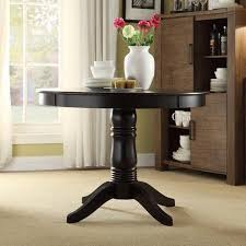 lexington round dining table black walmart com