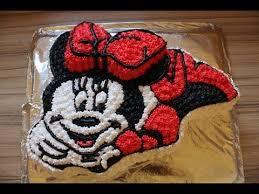 minnie mouse torte aus sahne selber machen anleitung