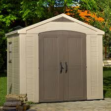 Keter Manor Plastic Shed 4 X 6 by 8x6 Factor Apex Plastic Shed Departments Diy At B U0026q