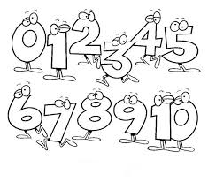 Terrific Numbers Clipart Black And White 63 Clipart With