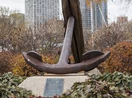 The Largest Artifact From Rouse Simmons Its Anchor Was Raised In 1970s And Sits On Permanent Display Front Of Milwaukee Yacht Club