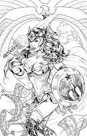 Wonder Woman 48 Coloring Book Variant Cover