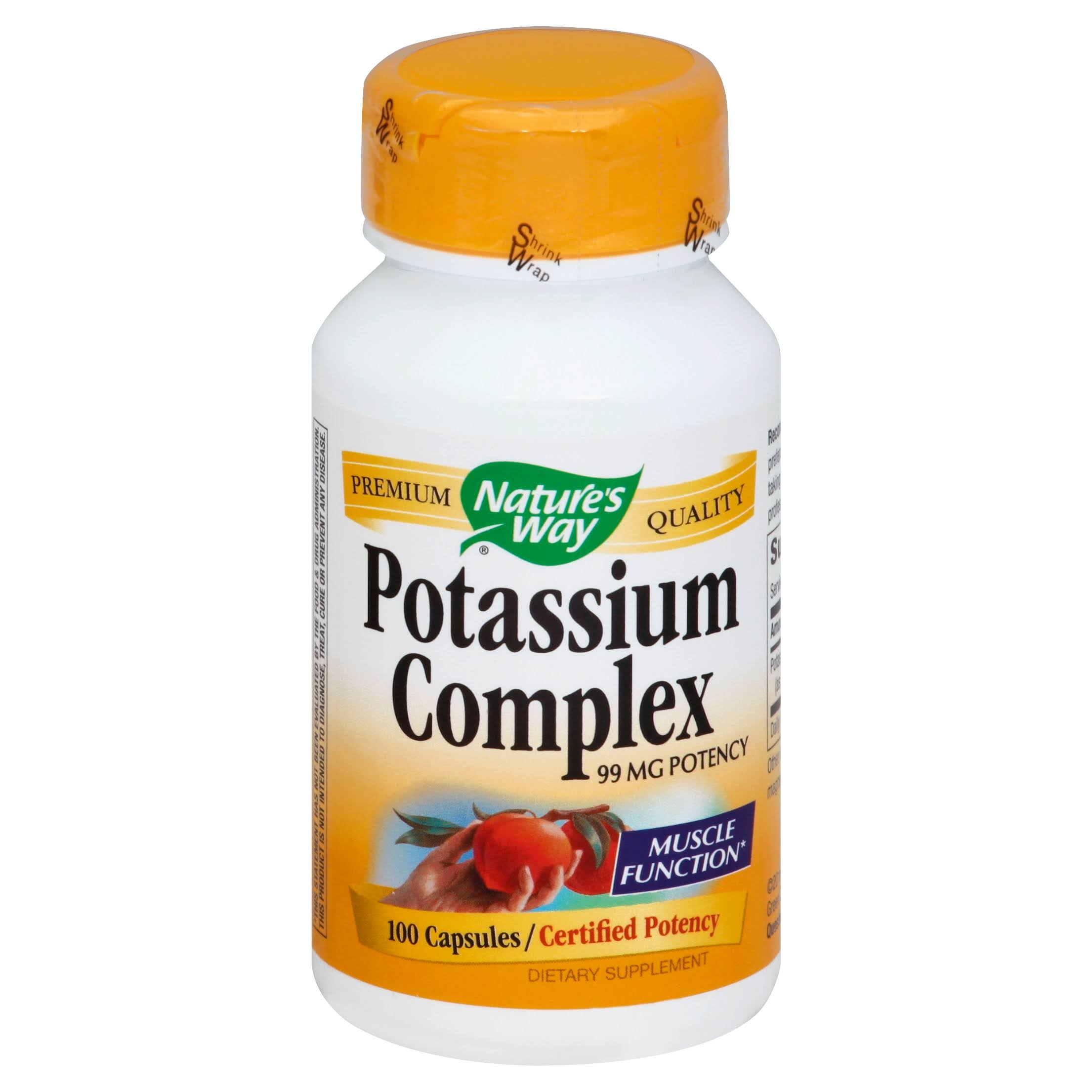 Nature's Way Potassium Complex Dietary Supplement - 100 Count