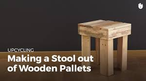 DIY Pallet Projects Wooden Stool
