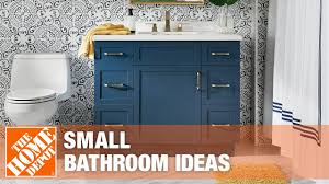 The Best Small Bathroom Ideas To Make The 8 Small Bathroom Design Ideas The Home Depot