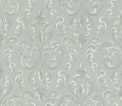 casa padrino barock textiltapete grau silber weiß 10 05 x 0 53 m hochwertige wohnzimmer tapete