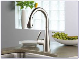 Grohe Concetto Kitchen Faucet Canada by Grohe Chrome Elberon Single Hole Pull Out Spray Kitchen Faucet