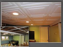 before after photos from a customer installation using ceilume
