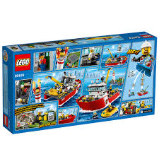 LEGO City Fire Fire Boat 60109 - Walmart.com