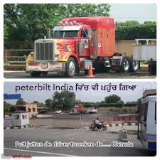 Peterbilt Trailer Puller (aka Optimus Prime) In India - Team-BHP
