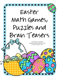 Halloween Brain Teasers by Fun Games 4 Learning Special Days Math Collection