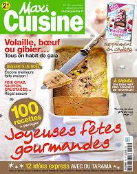 magazine de cuisine maxi cuisine novembre décembre 2017 no 121 pdf
