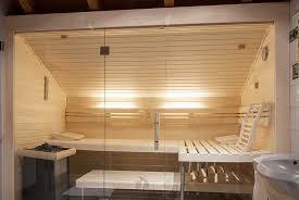 sauna unter einer dachschräge apart sauna
