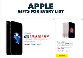 Best Buy Black Friday Deals on iPhone iPad MacBook Air Apple TV