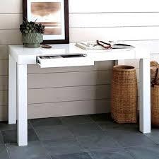 Parsons Table Desks Tar Room Essentials Parsons Desk White