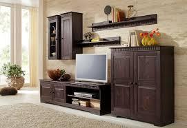 home affaire wohnwand set 4 tlg set aus 2 hängeschränken lowboard und kommode kaufen otto