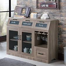 Dining Room Sideboard Regarding Amazon Com Industrial Server Cabinet With Ideas 16