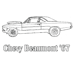 Muscle Car Coloring Pages Classic Cars Free Printable Colouring Full Size