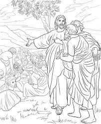 Jesus Feeds The Multitude With Fish And Bread Coloring Page From Mission Period Category Select 27278 Printable Crafts Of Cartoons Nature