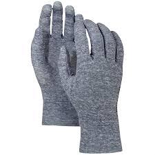 burton touchscreen liner gloves evo