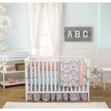 Bedding Sets Babies R Us by Balboa Baby Deluxe 4 Piece Bumper Grey Dahlia U0026 Coral Bloom