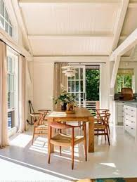 A Classical Designers Modern House In Maine Dining AreaDining Rooms