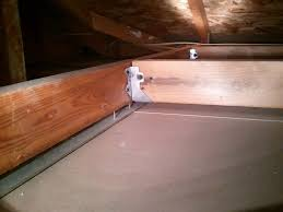Installing Ceiling Joist Hangers by Ceiling Is It Safe To Drill Into The Metal Spacer Between