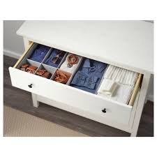Hemnes Dresser 3 Drawer White by Hemnes Chest Of 3 Drawers White Stain 108x96 Cm Ikea