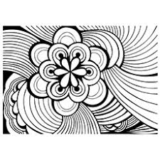 Beautiful Design Of Flower Abstract
