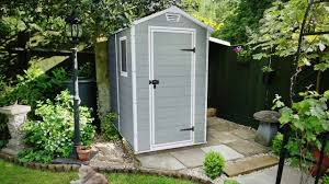 Keter Storage Shed Shelves by Keter Manor 4x6 Outdoor Garden Storage Shed De Youtube