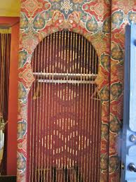 Natural Bamboo Beaded Door Curtain by Beaded Doors U0026 Us Fringe Crystal Beads String Curtain Tassel Door