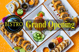 inter cuisines international bistro grand opening