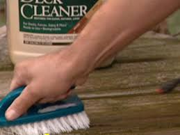 Restaining A Deck Do It Yourself by How To Clean And Seal A Deck How Tos Diy