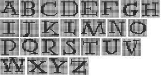 The Wandering Interrobang Nerdy Knits Potter Alphabet for Knitting