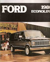 100 Ford Econoline Truck Brochure Van 1980 TB363 EBay