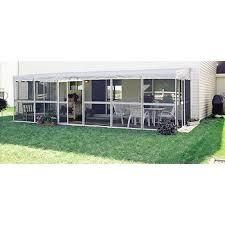 Patio Mate Screen Enclosure Roof by Patio Mate White 25 U00276