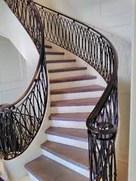 GALLERY | INTERIOR | Wrought Iron Railings – Innovative Metal Works Wrought Iron Stair Railing Idea John Robinson House Decor Exterior Handrail Including Light Blue Wood Siding Ornamental Wrought Iron Railings Designs Beautifying With Interior That Revive The Railings Process And Design Best 25 Stairs Ideas On Pinterest Gates Stair Railing Spindles Oil Rubbed Balusters Restained Post Handrail Photos Freestanding Spindles Installing