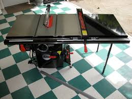 Sawstop Cabinet Saw Used by Sawstop Table Saw Reviews See How This One Of A Kind Saw Stop Is