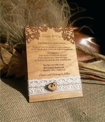 Wooden Wedding Invites Engraved Personalized Wood Invitations Laser Cut Rustic Handmade Lace