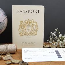 passport to love travel card style wedding invitation by ditsy chic