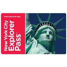 New York City Choose 4 Explorer Pass EVoucher Adult Costco UK